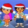 Рождественский Подарок Даши и Диего