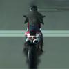 Мотоцикл против Полиции