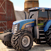 3Д Парковка Трактора на Ферме