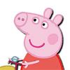 Раскраска со Счастливой Свинкой