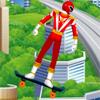Могучие Рейнджеры: Катание на Скейте
