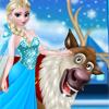 Рудольф и Эльза в Замороженном Лесу