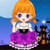 Малышка Лоли на Хеллоуин