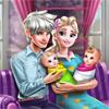 Семейный День Эльзы с Двойняшками