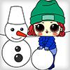 Куколки Принцессы - Зимние Забавы