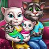 Семейный День Анжелы с Двойняшками