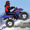 Зимой на Квадроцикле