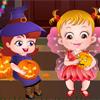 Малышка Хейзел на Хэллоуинской Вечеринке