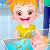 Малышка Хейзел и Новорожденный