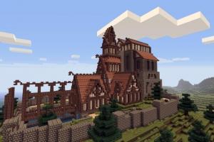 Симбиоз Minecraft и Skyrim