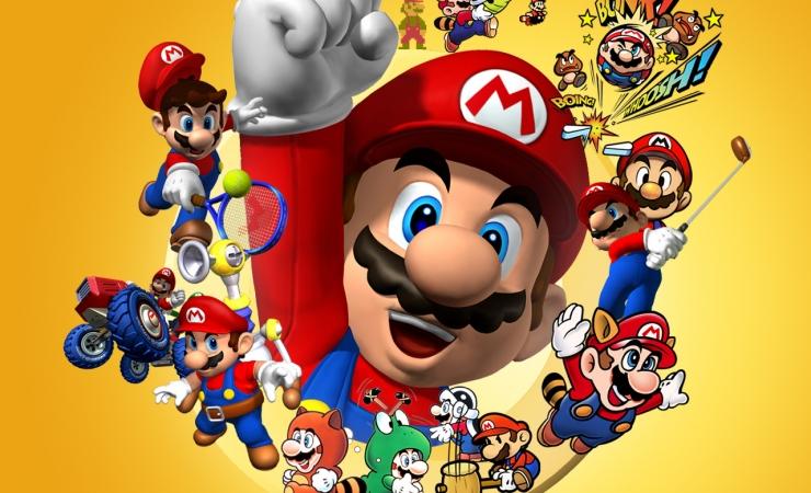 Марио игры