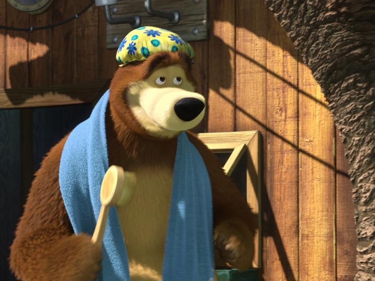 Фото 2 из Маша и медведь