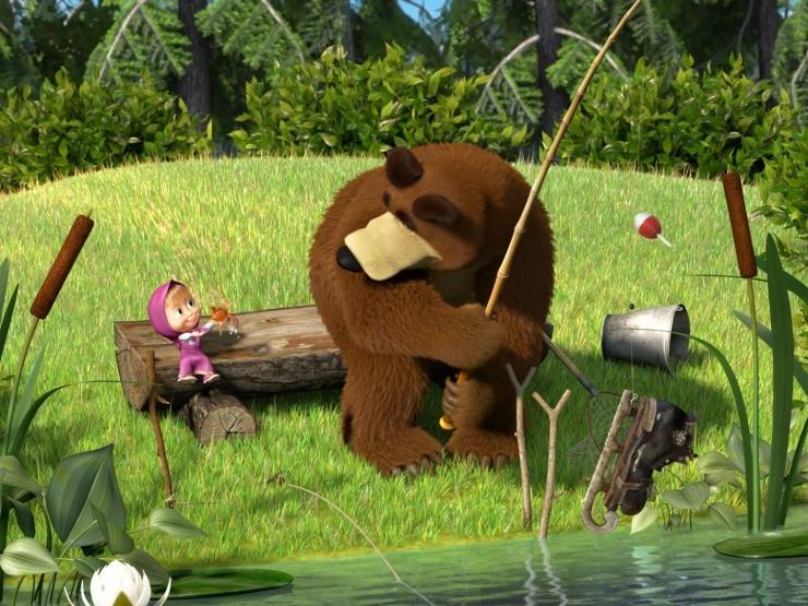 Фото 1 из Маша и медведь