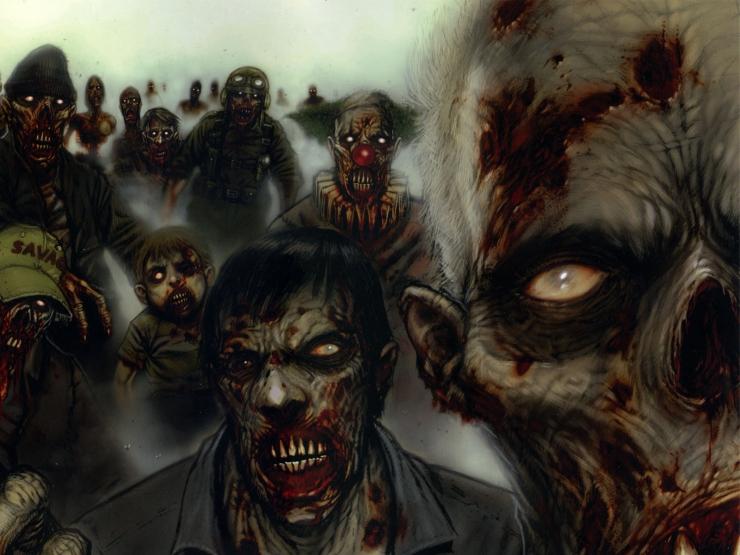 Фото 2 из Зомби игры