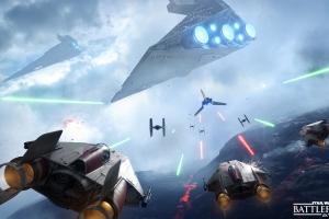 Воздушные бои в Star Wars: Battlefront