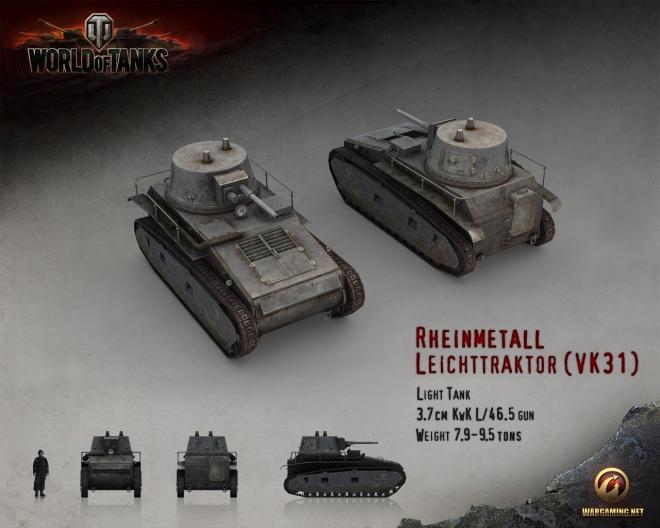 Гайды World of Tanks: Leichttraktor