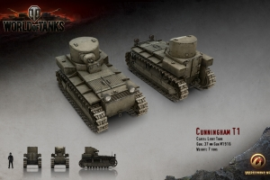 Гайды World of Tanks – T1 Cunningham