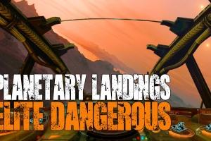 Planetary Landings даст возможность высаживаться на планеты в Elite Dangerous