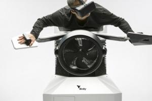 Швейцарец создал симулятор полёта