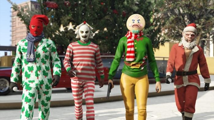 Grand Theft Auto Online празднует новый год