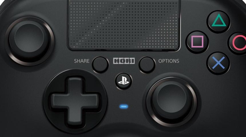 Hori выпустит PS4 геймпад для людей предпочитающих Xbox контроллеры