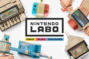 Nintendo сообщила о выпуске необычного конструктора для приставки Switch