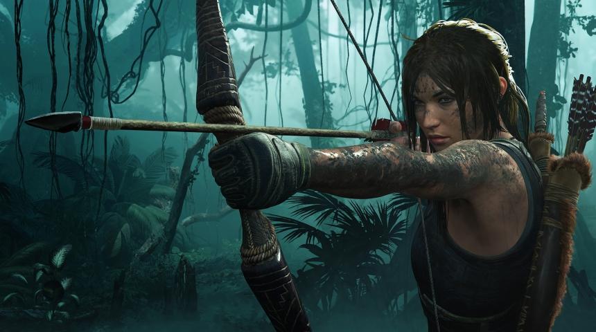 Трассировка лучей для в Shadow of the Tomb Raider