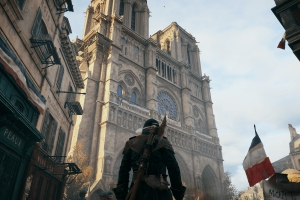 Assassin's Creed Unity не сможет помочь восстановить Нотр-Дам-де-Пари