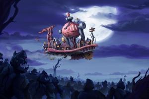 Мечты о летающем городе и апокалипсис: анонс Dream Engines: Nomad Cities
