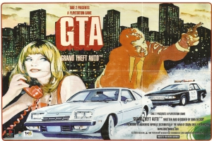 Опубликовано видео создания первой GTA