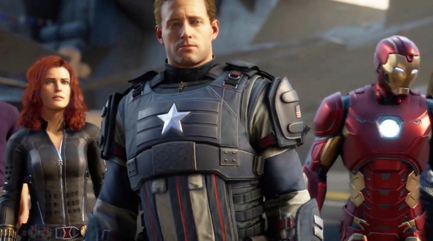 На ЕЗ 2019 компанией Square Enix представлена видео игра для ПК по Мстителям