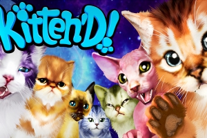 Симулятор Kitten'd приглашает поиграть с виртуальными кошками
