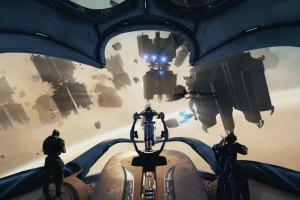 Дополнение для Warframe позволит вести космические сражения