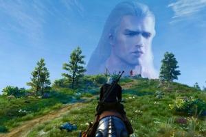 Геральт получил лицо Генри Кавилла теперь и в игре The Witcher 3: Wild Hunt