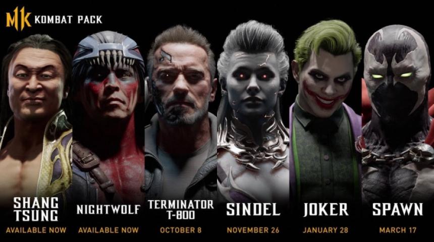 В Mortal Kombat 11 прибавятся очередные именитые бойцы