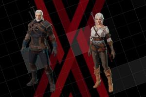 Геральт и Цири стали пилотами мехов Daemon X Machina