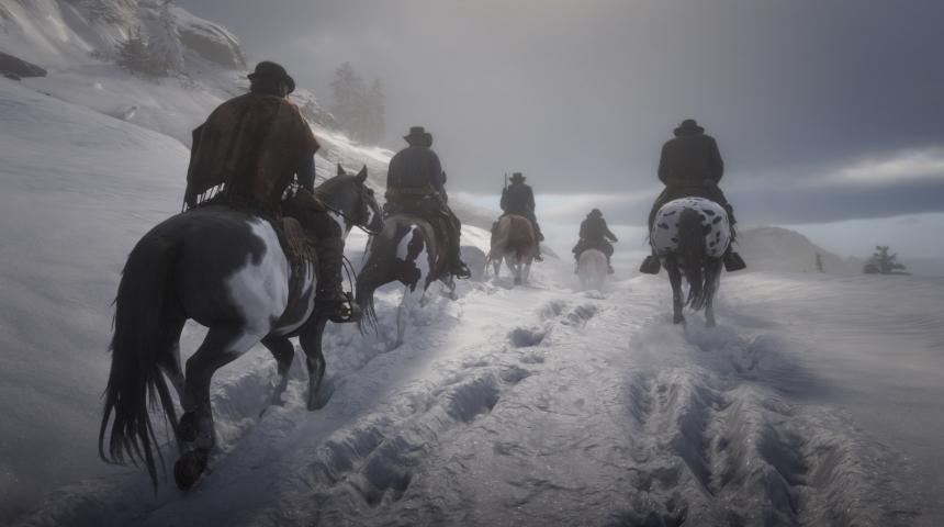 Red Dead Redemption 2 показала в Steam вялый старт